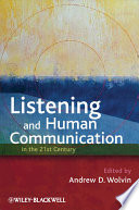 Listening and Human Communication in the 21st Century Book PDF