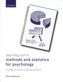 Starting Out In Methods And Statistics For Psychology Book PDF