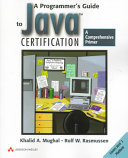 A Programmer s Guide to Java Certification Book PDF
