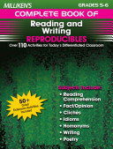 Milliken s Complete Book of Reading and Writing Reproducibles   Grades 5 6