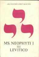 Neophyti 1, Targum Palestinense manuscrito de la Biblioteca Vaticana. Tomo III. Levítico