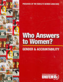 Who Answers To Women