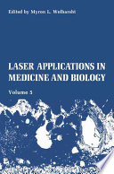 Laser Applications In Medicine And Biology Book PDF