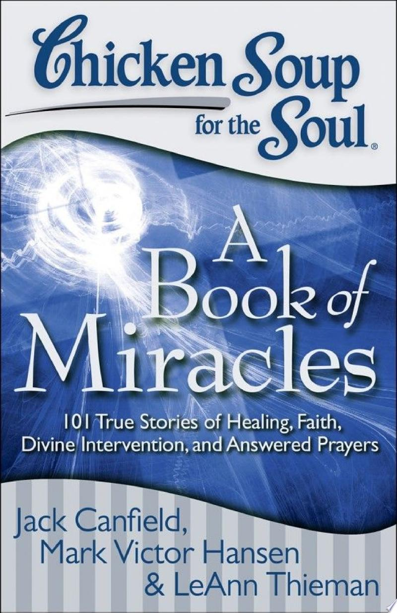 Chicken Soup for the Soul: A Book of Miracles banner backdrop