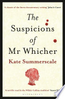 The Suspicions of Mr  Whicher Book