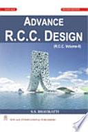 Advance R.C.C. Design (R.C.C. Volume-Ii)