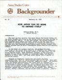 Asian Studies Center Backgrounder