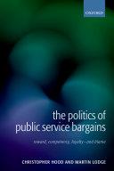 The Politics of Public Service Bargains