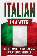 Italian in a Week!
