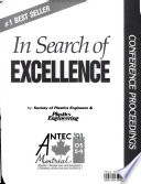 """Search of Excellence, ANTEC 91"" by Society of Plastic Engineers"