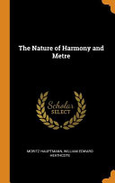 The Nature of Harmony and Metre