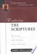 Exploring The Scriptures