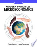 Modern Principles of Microeconomics Book