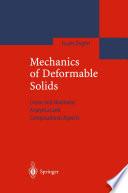 Mechanics of Deformable Solids