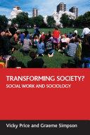 Transforming Society?