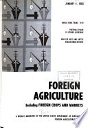 Foreign Agriculture Book