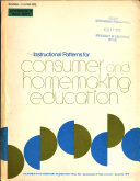 Instructional Patterns for Consumer and Homemaking Education
