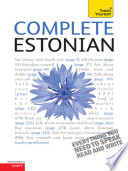 Complete Estonian Beginner to Intermediate Book and Audio Course