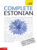 Complete Estonian Beginner to Intermediate Book and Audio Course