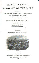 Dr  William Smith s Dictionary of the Bible