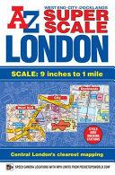 Super Scale London Street Atlas