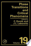 Phase Transitions and Critical Phenomena Book