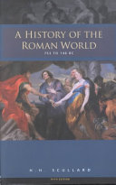 A History of the Roman World  753 to 146 BC