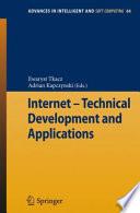 """""""Internet Technical Development and Applications"""" by Ewaryst Tkacz, Adrian Kapczynski"""