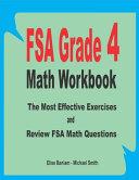 FSA Grade 4 Math Workbook