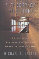 Pdf A Theory of the Firm
