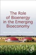 The Role of Bioenergy in the Bioeconomy