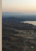 Community and Autonomy in Southern Oman