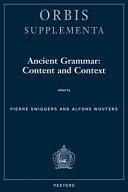 Ancient Grammar