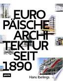 Europäische Architektur seit 1890