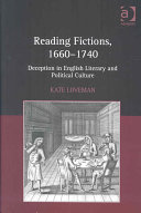 Reading Fictions, 1660-1740