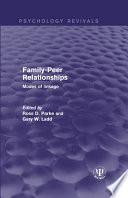 Family-Peer Relationships