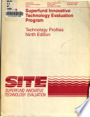 Superfund Innovative Technology Evaluation