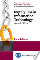 Supply Chain Information Technology, Second Edition