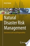 Natural Disaster Risk Management Book PDF