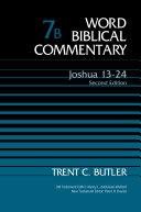 Joshua 13 24  Volume 7B