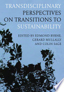 Transdisciplinary Perspectives on Transitions to Sustainability Book