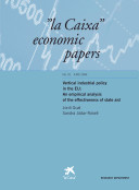 Vertical industrial policy in the EU: An Empirical analysis of the effectiveness of state aid