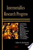 Intermetallics Research Progress Book