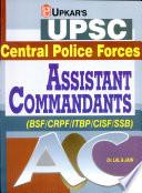 Upsc Cpf Assistant Commandant (Bsf/Crpf/Itbp/Cisf/Ssb)