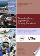 Transdisciplinary Engineering  Crossing Boundaries Book