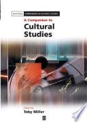 A Companion To Cultural Studies