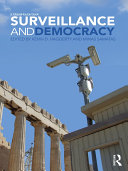 Surveillance and Democracy Pdf/ePub eBook