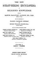 The New Schaff Herzog Encyclopedia Of Religious Knowledge