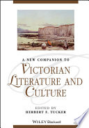 A New Companion to Victorian Literature and Culture