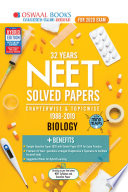 Oswaal Neet Question Bank Chapterwise Topicwise Class 12 Biology For March 2020 Exam